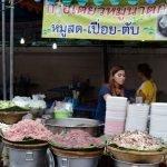 Comiendo en la calle por Bangkok y Tailandia