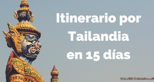 Itinerario por Tailandia en 15 días Portada