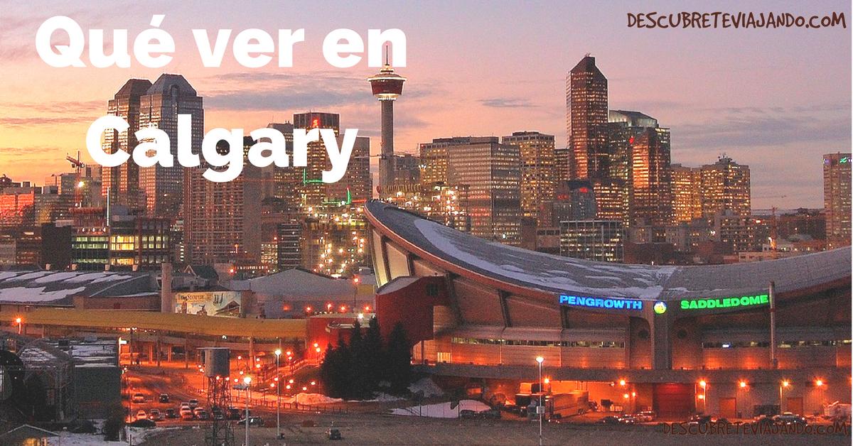 Qué ver en Calgary Portada