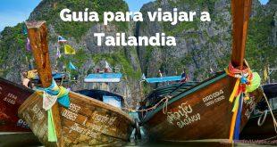 cómo organizar un viaje a Tailandia Portada
