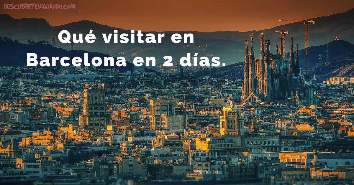 Lugares que visitar en barcelona en 2 d as gu a con mapas for Lugares turisticos para visitar en espana