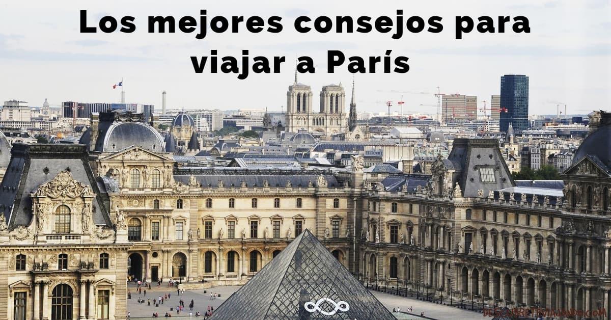 consejos para viajar a paris p