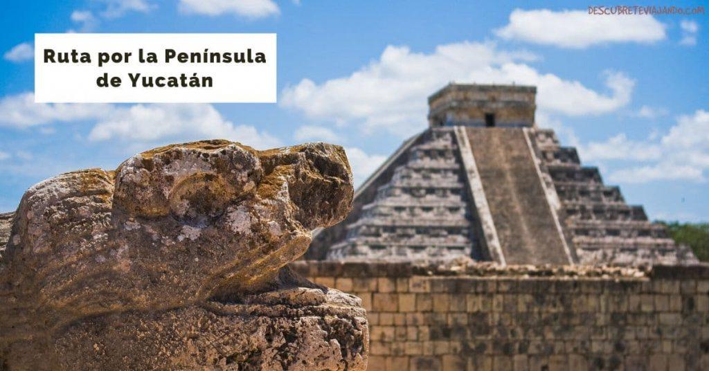 itinerario por la peninsula de yucatan (1)