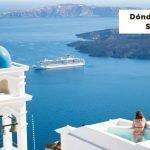 Dónde alojarse en Santorini, las mejores zonas [Incluye mapa]
